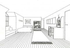 1 pt complex interior room
