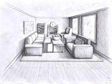 1pt room interior