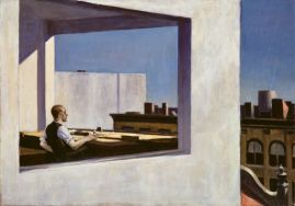 Working Title/Artist: Edward Hopper: Office in a Small City Department: Modern Art Culture/Period/Location: HB/TOA Date Code: Working Date: photography by mma 1979/89, transparency #11ad scanned and retouched by film and media (jn) 5_16_07