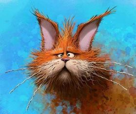 frazzled kitty dennis jones