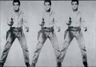 Andy Warhol - Triple Elvis