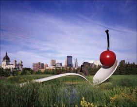 Claes Oldenburg Spoon with Cherry