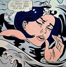 Roy Litchenstein - Drowning Girl