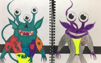 SKBK Monsters Robots c2021 Brayan