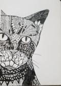 SKBK Zentangle Animal c2021 Ayesha
