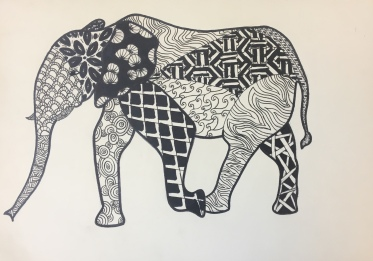 SKBK Zentangle Animal c2021 Maddy