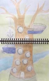 SKBK Tree House c 2021 Kaela