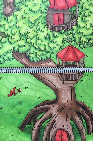 SKBK Tree House c2021 Julianne