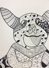 SKBK Zentangle Animal c2021 Jenifer