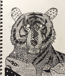 SKBK Zentangle Animal c2021 Rosalba