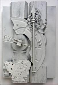 assemblage art sample detail 1