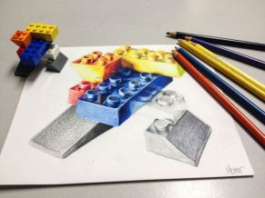 2 point perspective lego 1